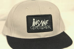 Image of Insane Gentlemen Patch Grey Snap Back