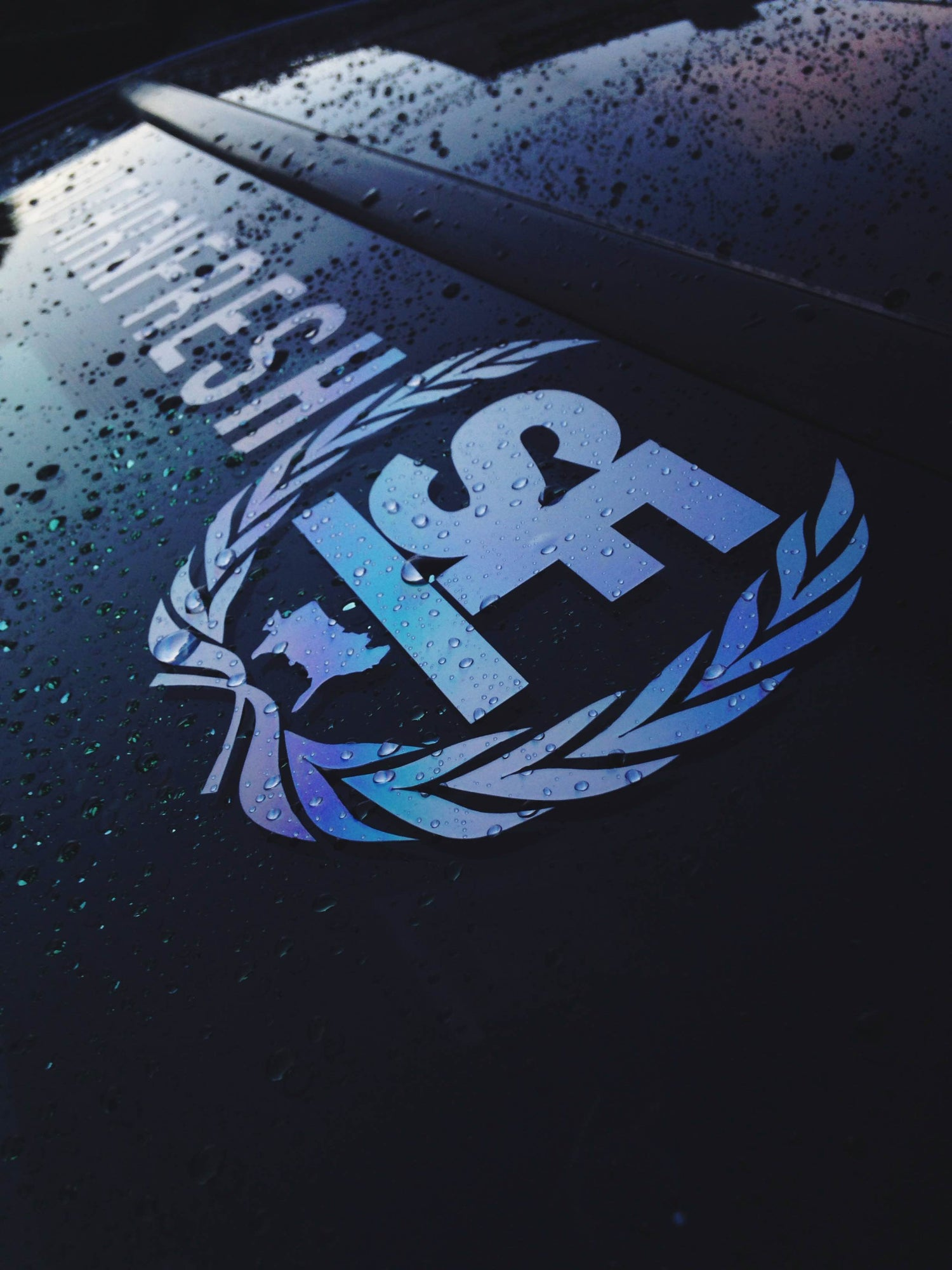 "Image of 28"" Southrnfresh Crest Windshield Banner"