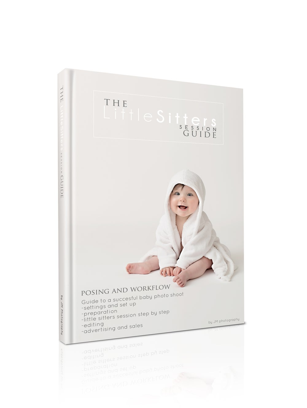 "Image of ""The Little Sitter session Guide"" - baby photography posing guide"