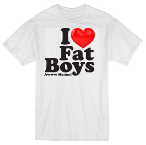 Image of I LOVE FAT BOYS T-SHIRTS