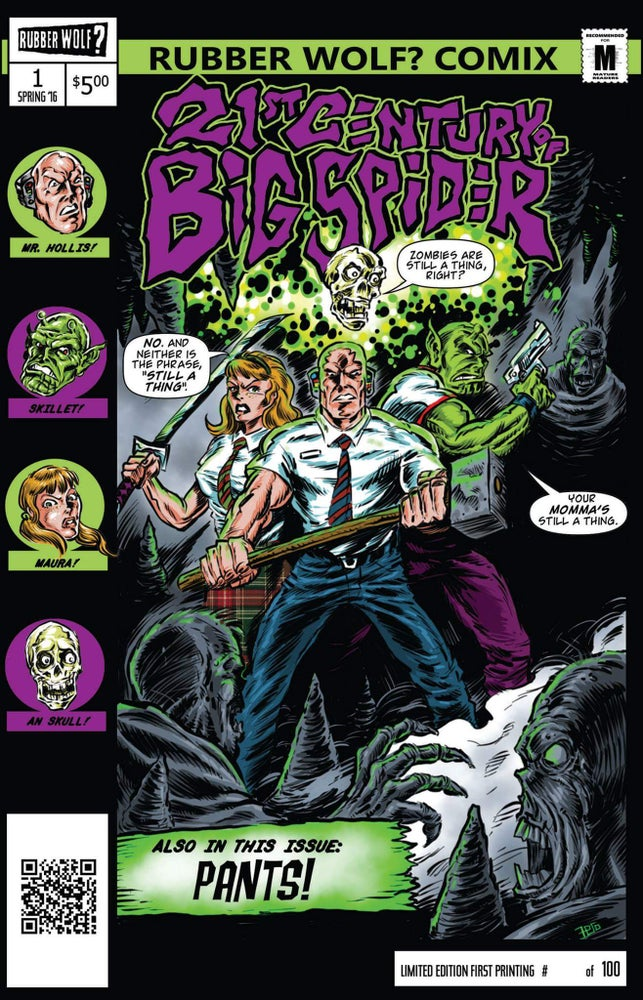 Image of 21st Century of Big Spider #1 (1st printing)