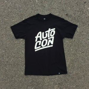 Image of AUTOCON x DEEP TEE - BLACK