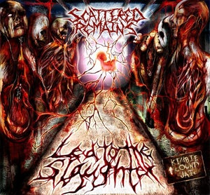 Image of Scattered Remains - Led To the Slaughter