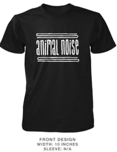 Image of Animal Noise Black T Shirt