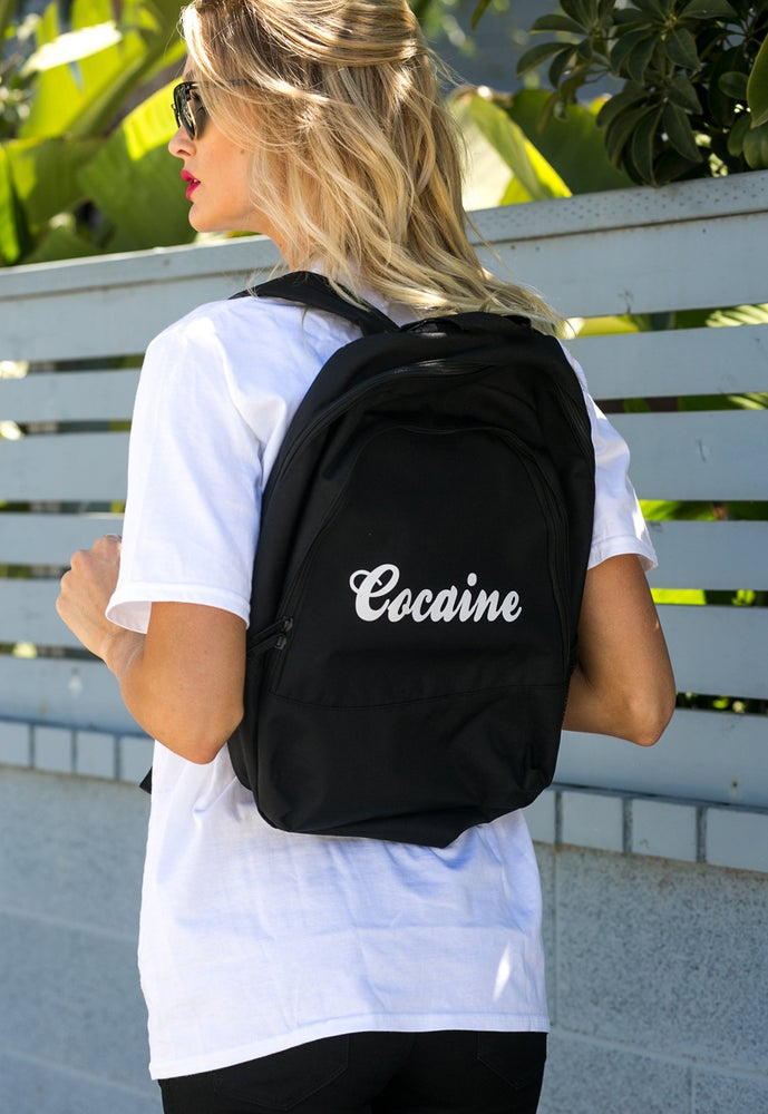 Image of Cocaine Designer Street wear Backpack