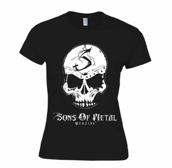 "Image of T-shirt ""Skull is watching you"" Femme"