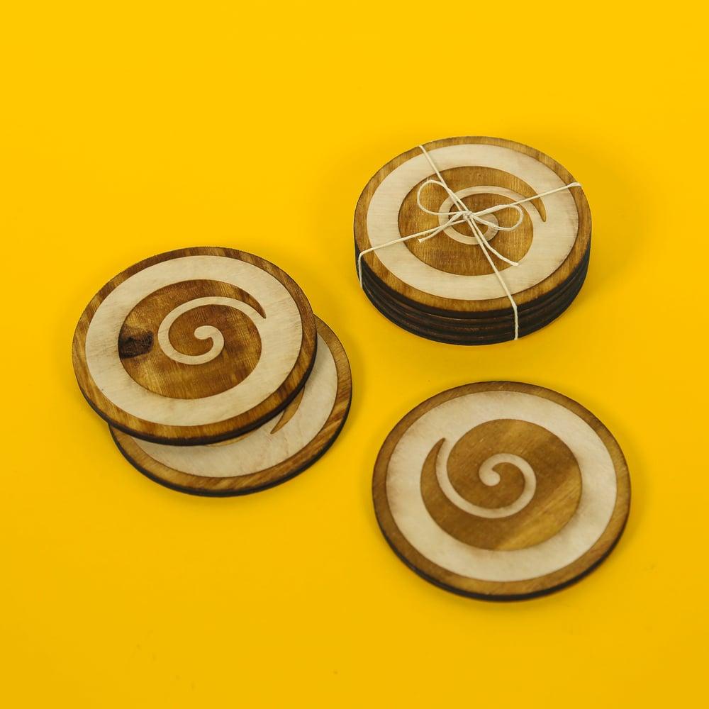 Image of Koru Coasters