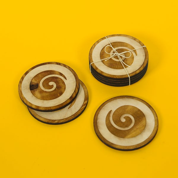 Image of Koru Coasters