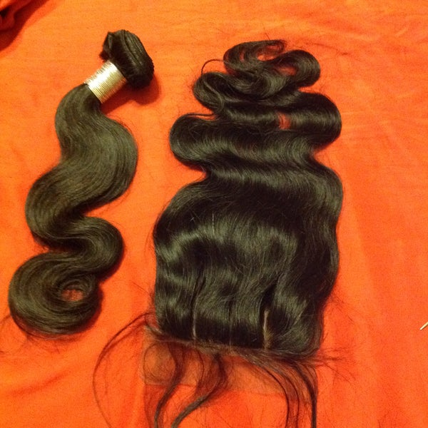 Image of Brazilian Royal Body Wave Bundle/Closures/Frontals