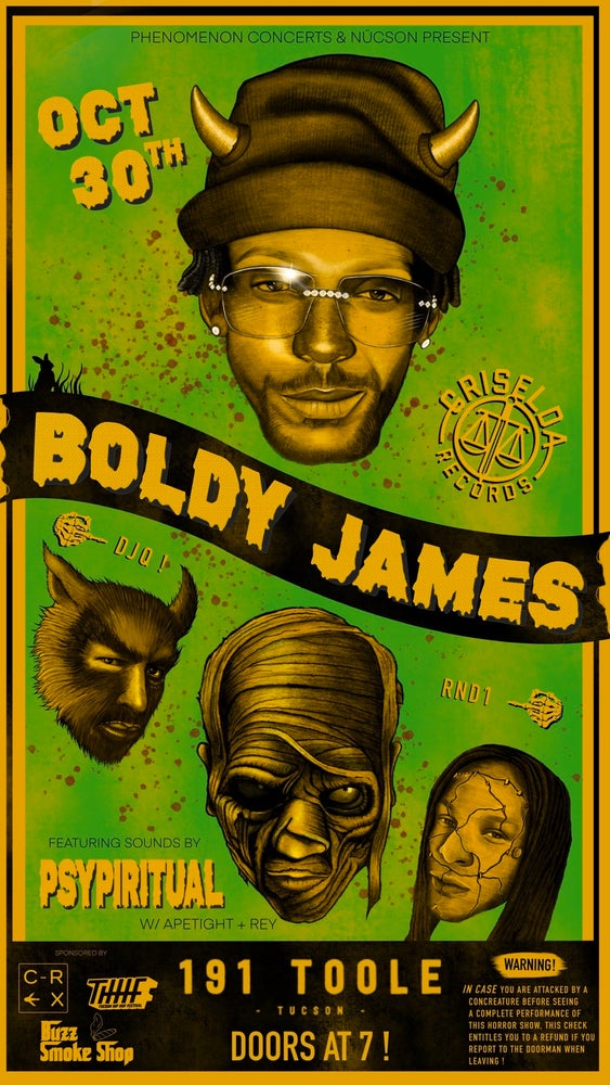 Image of BOLDY POSTER