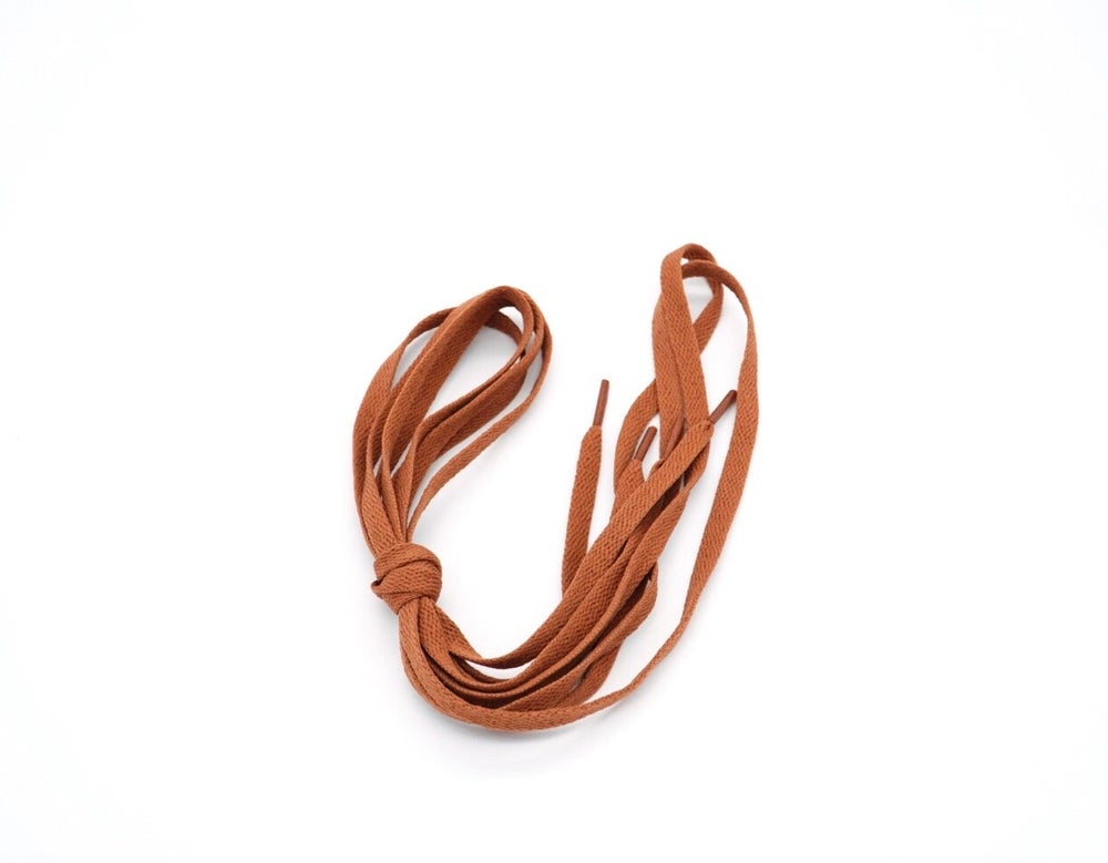 Image of Rustic Brown Flat Laces