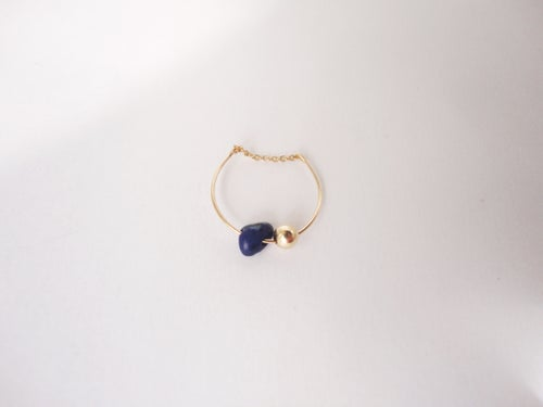 Image of Bague Lapis Lazuli