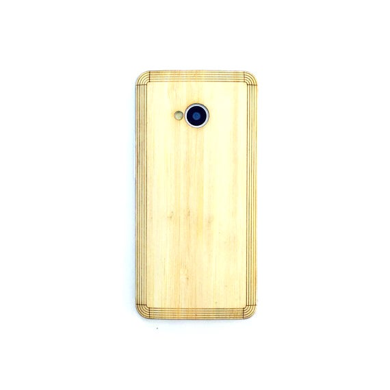 Image of TIMBER HTC M7 Natural Wood Skin Back – Free Shipping United States Orders
