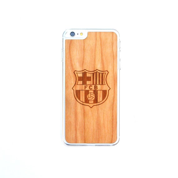 Image of TIMBER Wood Skin Case (iPhone, Samsung Galaxy) : Club Football Edition