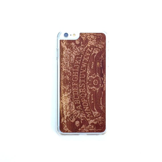 Image of TIMBER iPhone 6 Plus Wood Case : Ouija Edition