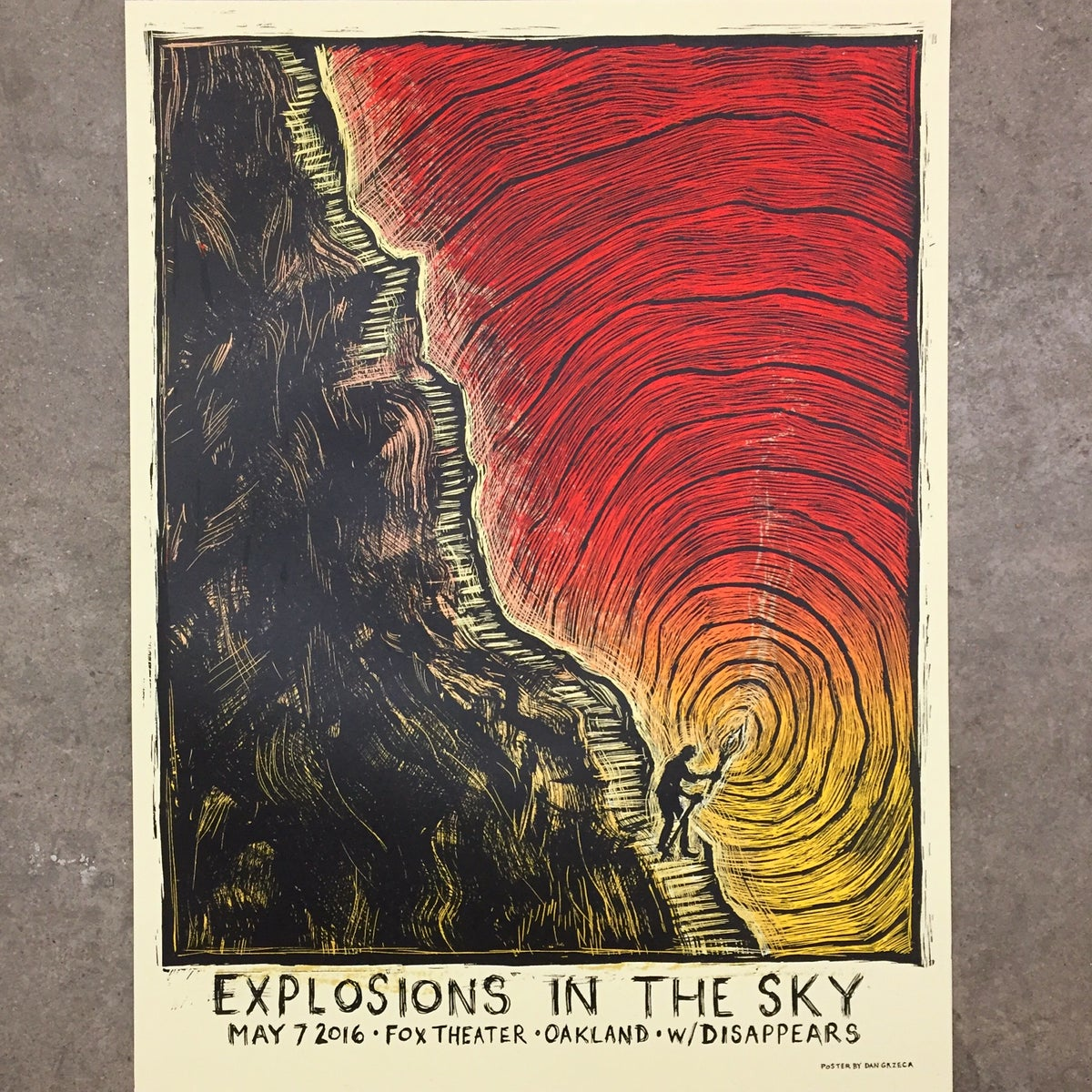 Explosions In The Sky Oakland Poster
