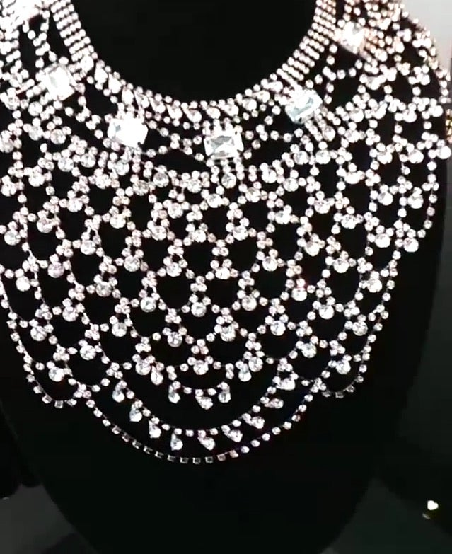 Image of Cleo Crystal Necklace