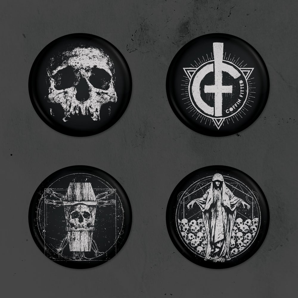 "Image of 1"" Button Pack"