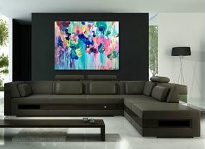 Image of Reef regnum 90x120cm