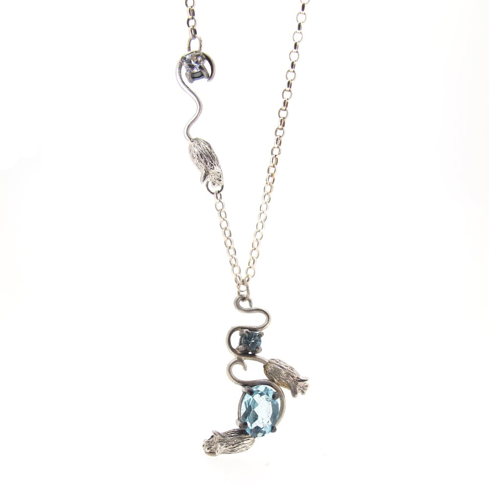 Sian Bostwick Jewellery Playing Card Suit Heart Necklace - 16 vt6k0Tj1