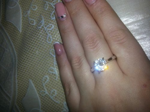Image of Solitaire Sparkle Ring