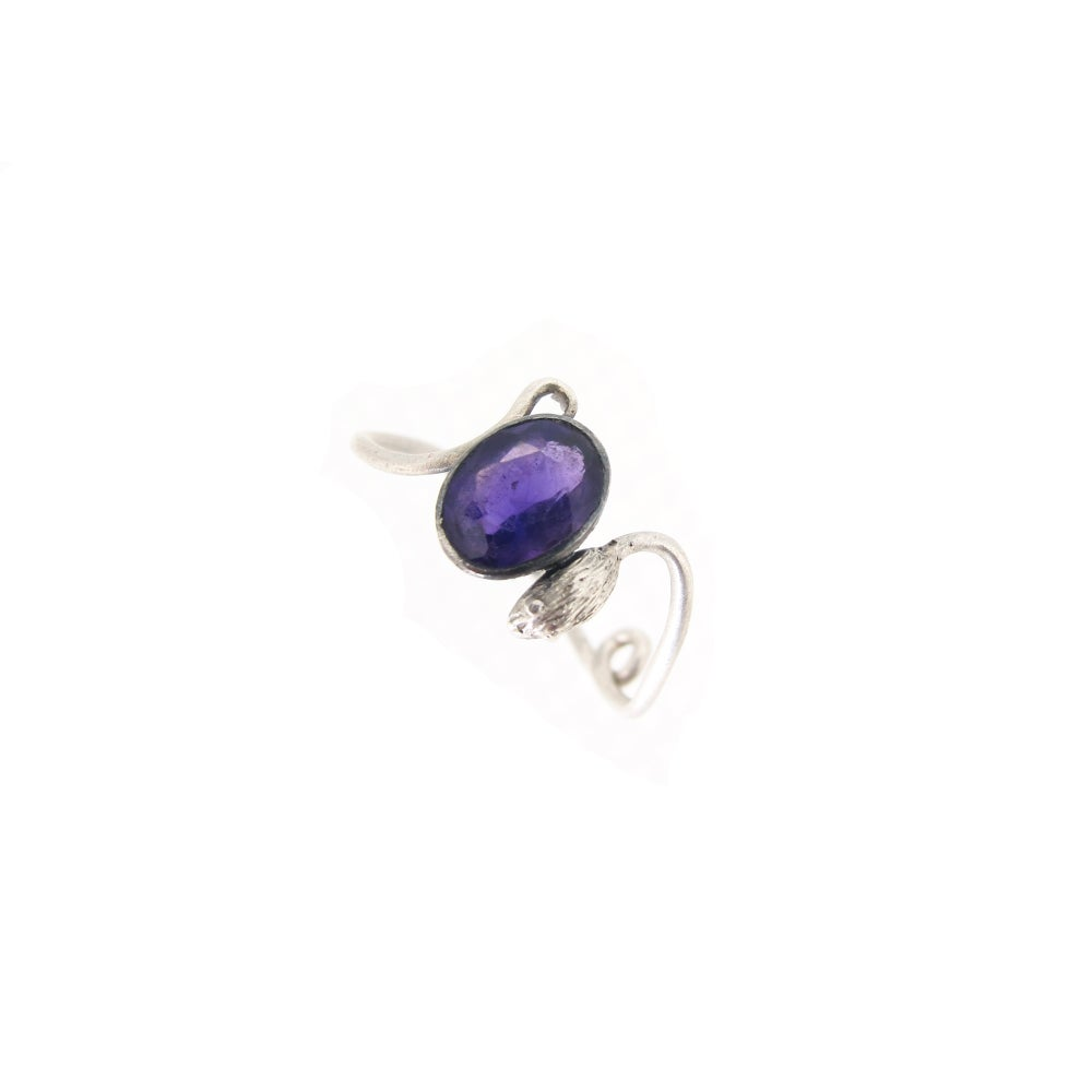 Image of {NEW} Amethyst Mouse Ring