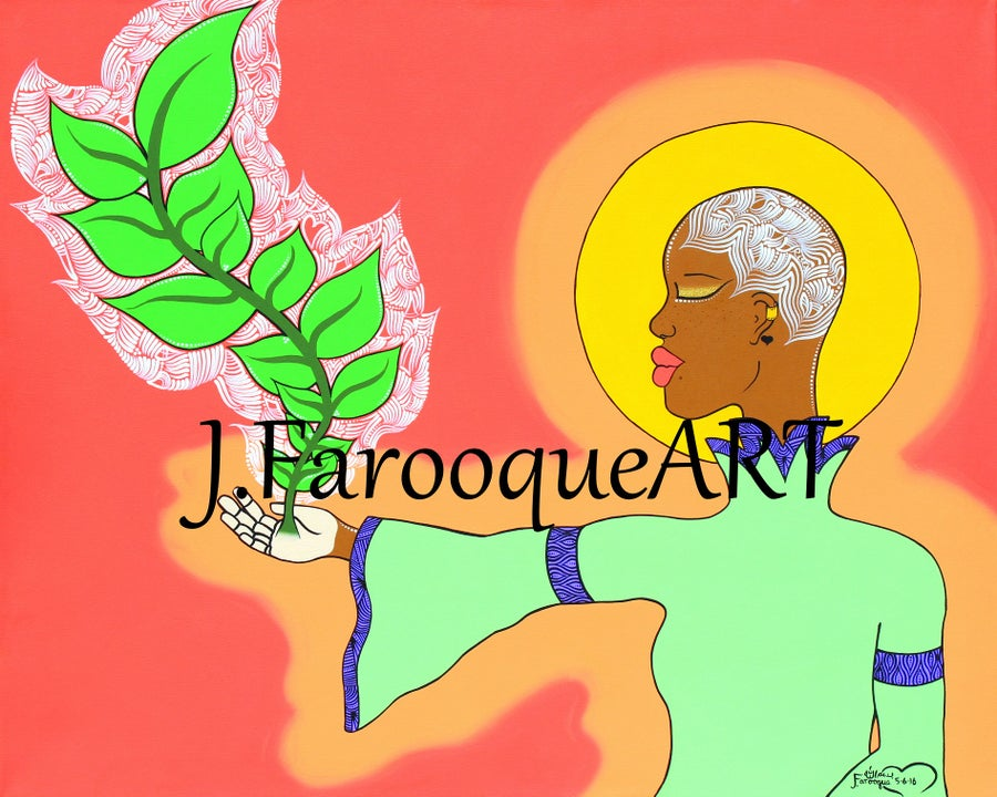 """Image of """"Grow While You Can"""" Art Print!"""