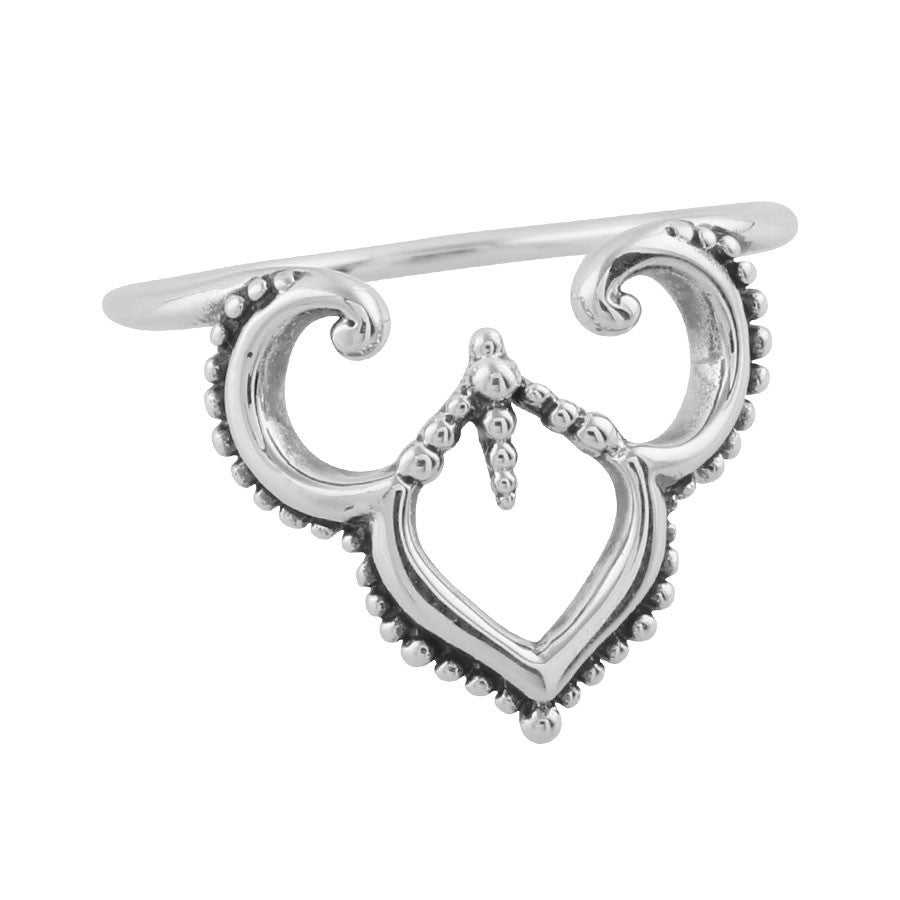 Image of Sterling Silver Maharaja Archway Ring