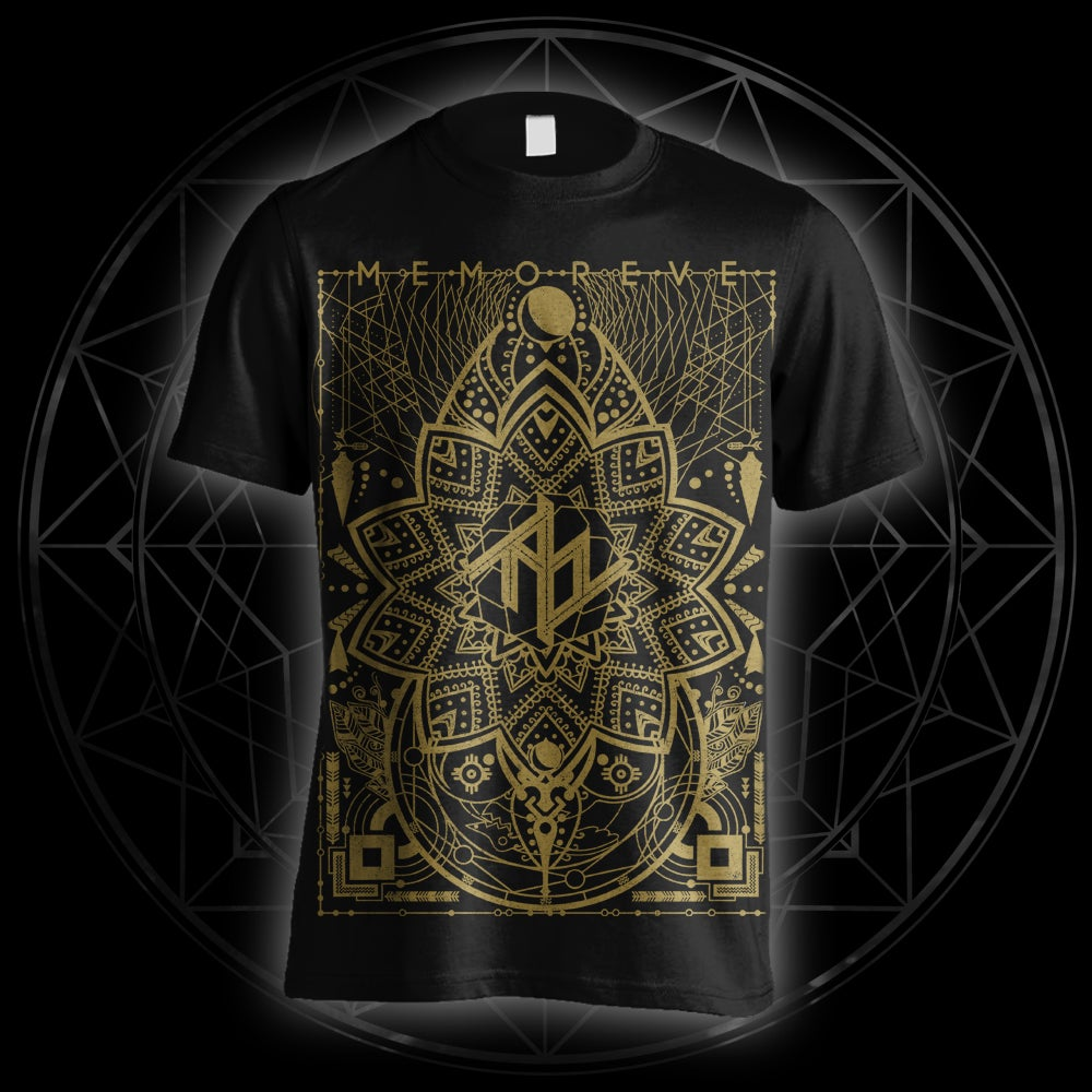 Image of Gold Print T-Shirt