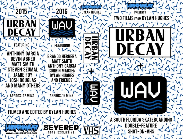 Image of WAV/URBAN DECAY VHS TAPE (PREORDER)