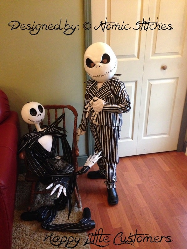 Image of Child Jack Skellington Costume Custom Made