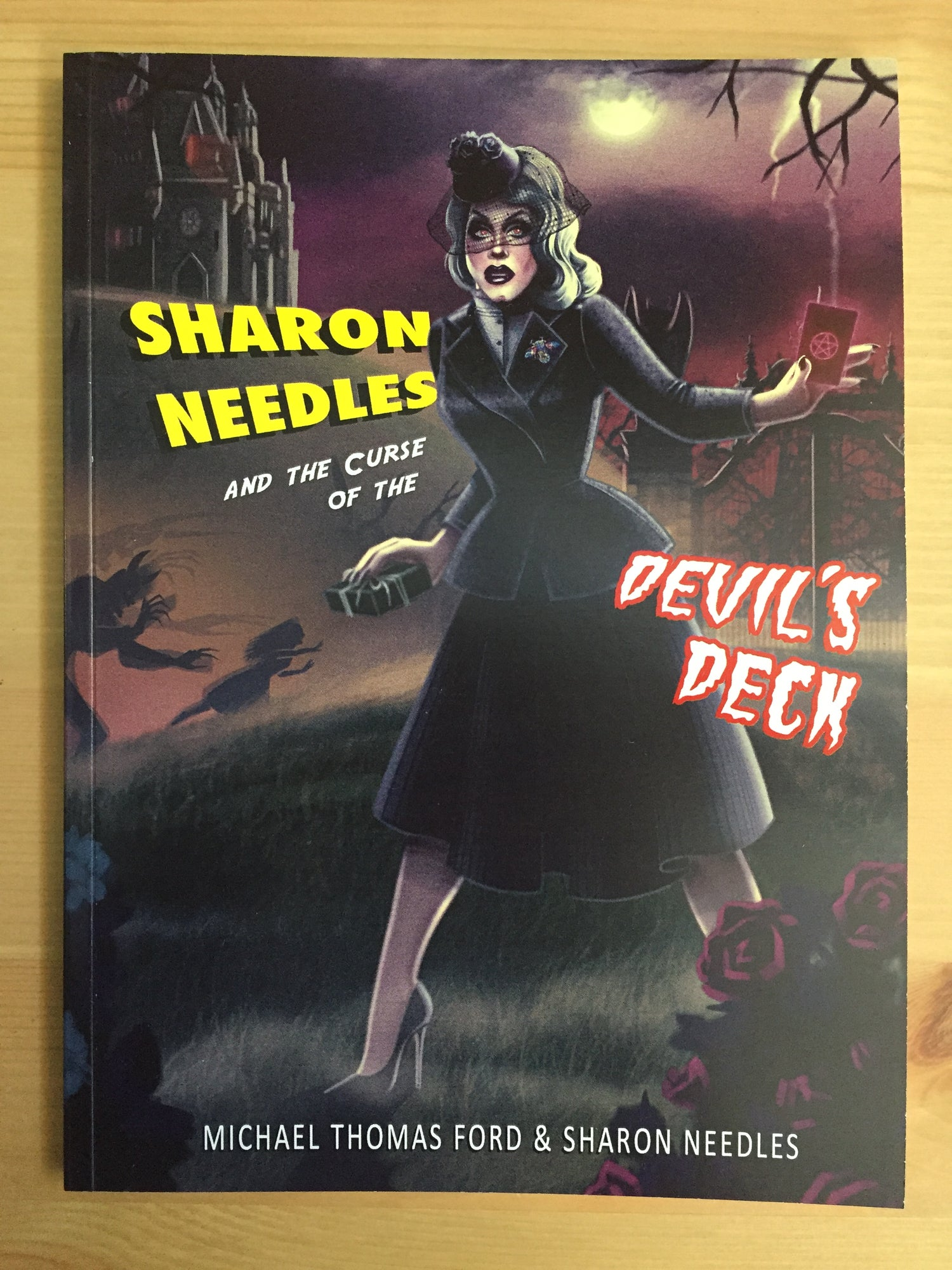 Image of BACK IN STOCK- Sharon Needles and the Curse of the Devil's Deck (Sickening Adventures Book 1)