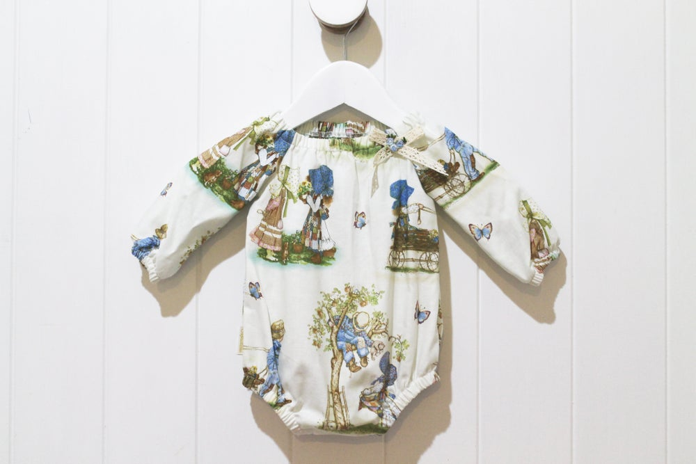 Image of Holly Hobbie - Long Sleeve Romper Playsuit