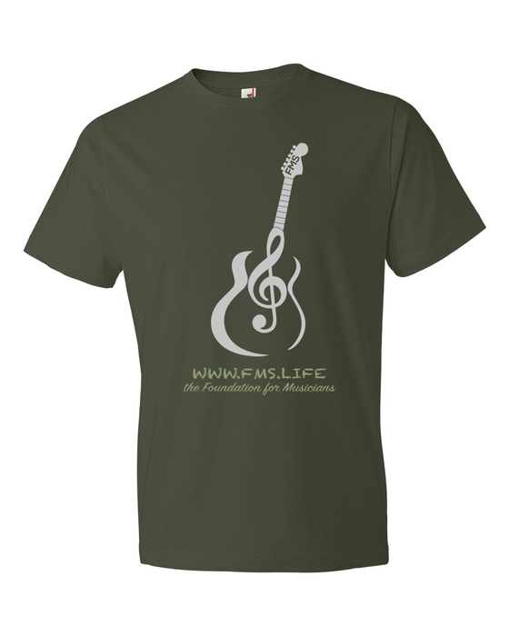 Image of City Green T-Shirt with FMS Logo