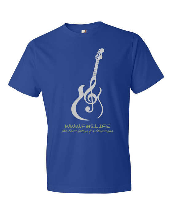 Image of Royal Blue T-Shirt with FMS Logo