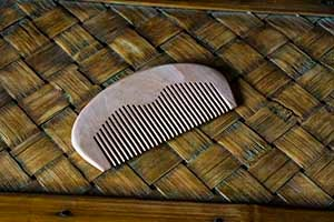 Image of WOODEN BEARD COMB