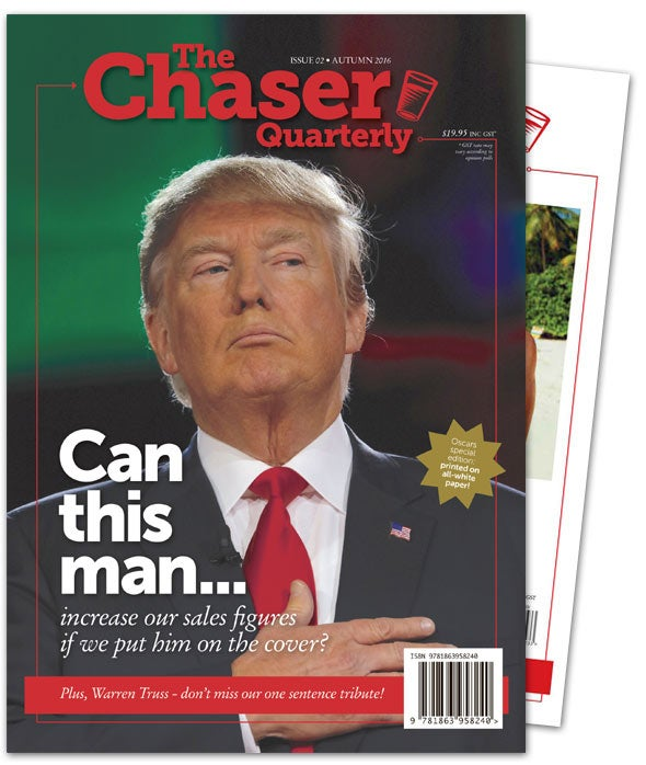 Image of The Chaser Quarterly: 12-Month Subscription