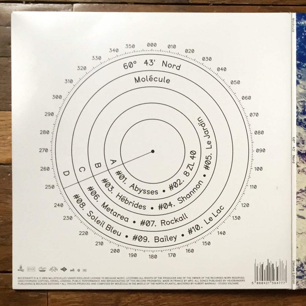 Image of Molécule 60°43' Nord  - Deluxe Edition (Double Vynil)
