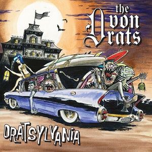 "Image of **NEW: The von Drats ""Dratsylvania"" CD"