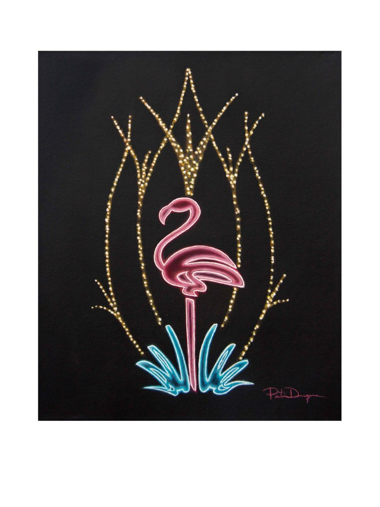 Image of Flamingo (limited edition 15 Art Print)