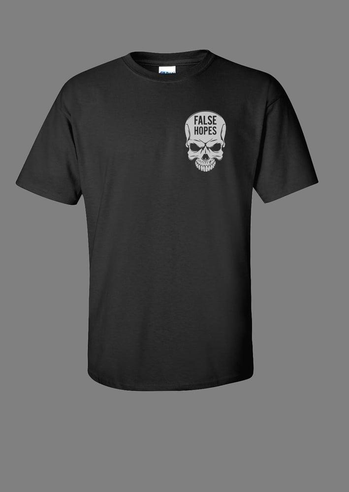 Image of Black Skull T-Shirt