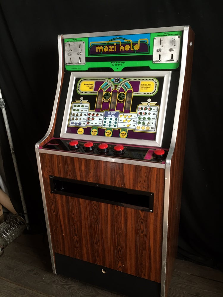 Image of Genuine Early 1970's Gemini Fruit Machine