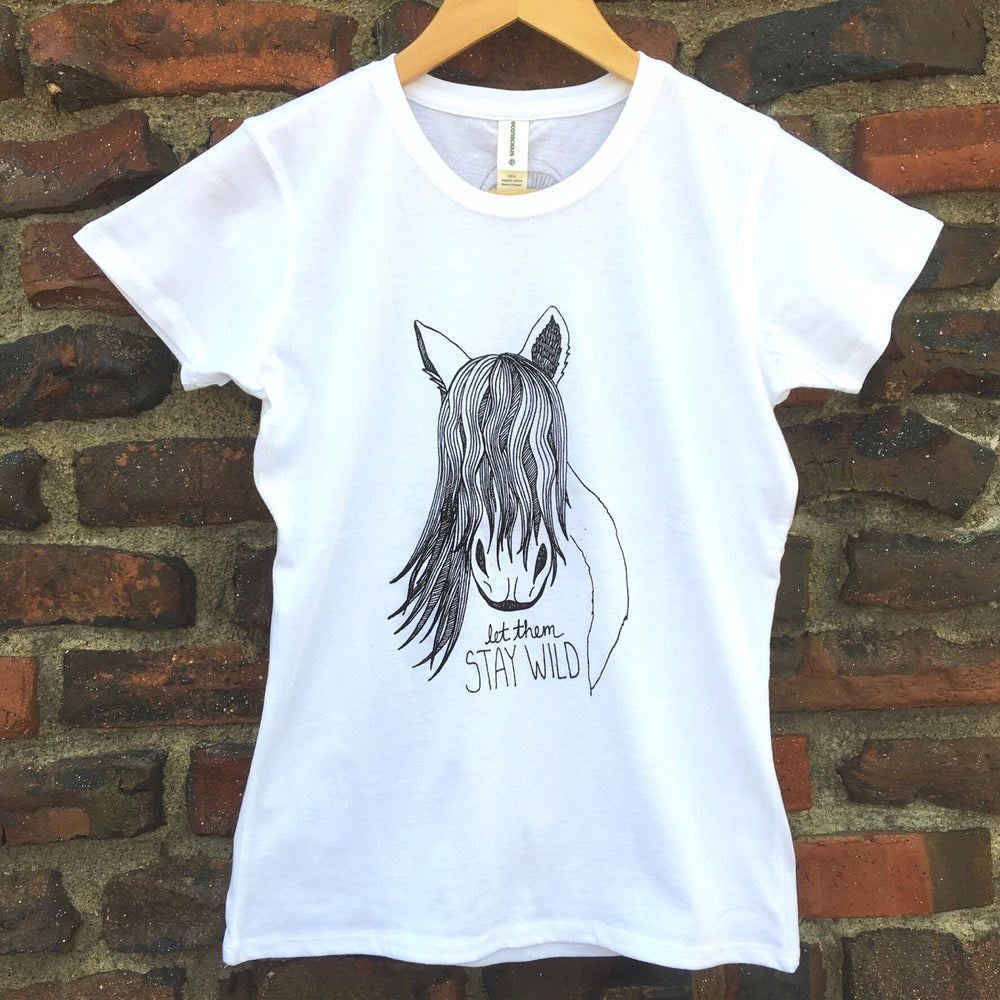 Image of Stay Wild- Women's Organic Tee
