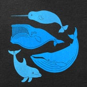 Image of Vintage Whale Chart - Unisex MD / Womens VNeck SM, MD, XL / Womens SM-XL