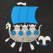 Image of Vintage Vikings T-shirt | Womens Scoop Neck SM