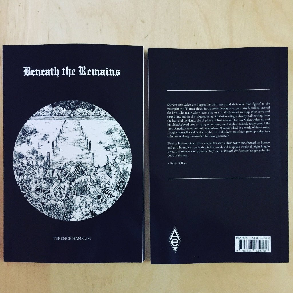 Image of TERENCE HANNUM / Beneath the Remains / Novella