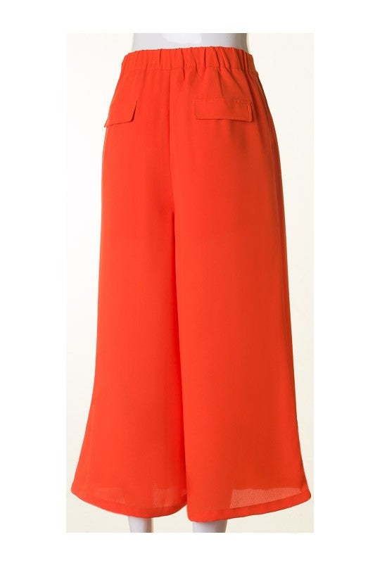 Image of Orange gauchos
