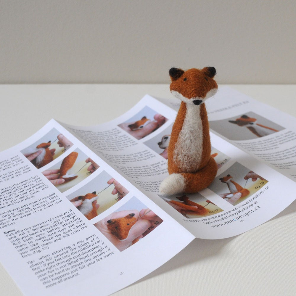 Foxy - Needle Felting Kit