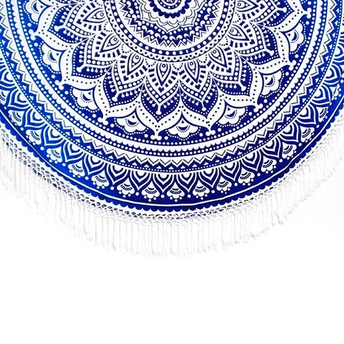 Image of Blue Ombre Mandala Roundie