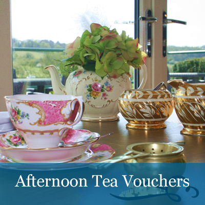 Image of Vintage Afternoon Tea Vouchers (16.95pp)